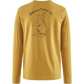 Klättermusen Runa Workshop Longsleeve T-Shirt Heren, honey